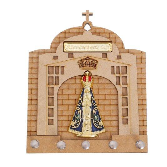 Porta chave Nossa Senhora Aparecida - MDF
