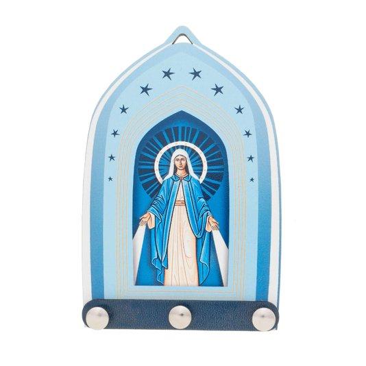 Porta chave Nossa Senhora das Graças - Linha Santos