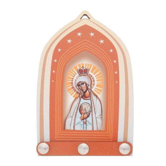 Porta chave Nossa Senhora de Fátima - Linha Santos