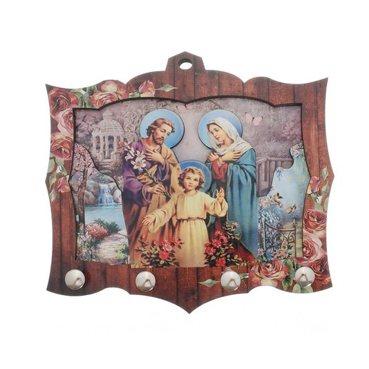 Porta chave Sagrada Família 3D