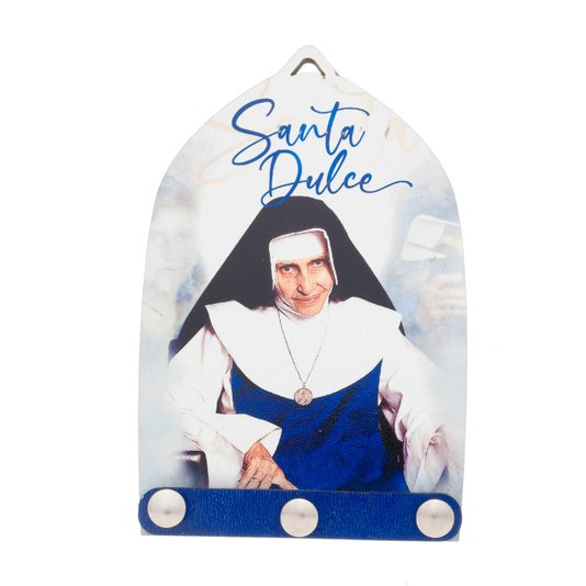 Porta chave Santa Dulce dos pobres - Linha Santos