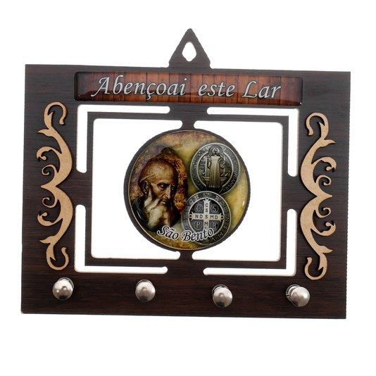 Porta chave São Bento vazado