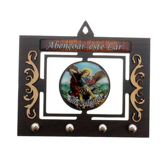 Porta chave São Miguel vazado