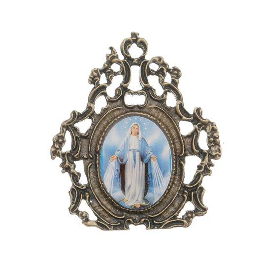 Porta Retrato de Nossa Senhora das Graças - trabalhado
