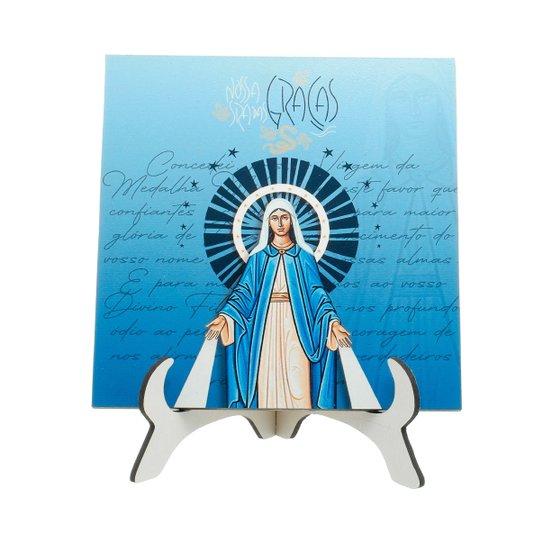Quadro Nossa Senhora das Graças - Linha Santos