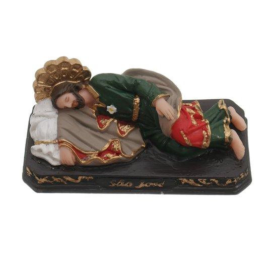 Imagem São José Dormindo em resina - 7cm