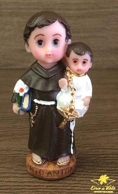 Imagem Santo Antônio infantil em resina - 8cm