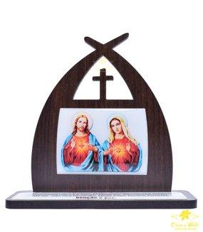 CAPELA COM ORAÇÃO - SAGRADO CORAÇÃO DE JESUS E MARIA