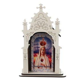 Capela Nossa Senhora de Fátima - 17cm