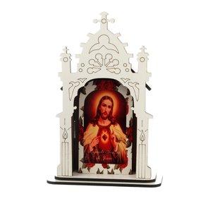 Capela Sagrado Coração de Jesus - 12cm