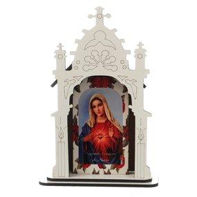 Capela Sagrado Coração de Maria - 12cm