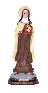 Imagem de Santa Teresinha em resina - 44cm