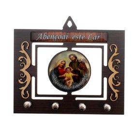 Porta chave Sagrada Família vazado