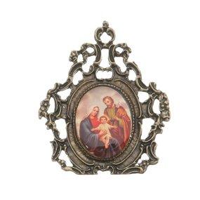 Porta Retrato Sagrada Família - trabalhado