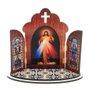 Capela Jesus Misericordioso em MDF - 12cm