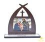 Capela com oração Sagrada Família