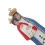Imagem de Nossa Senhora do Bom Parto em resina - 07cm