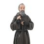 Imagem de Padre Pio em resina - 20cm