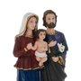 Imagem Sagrada Família em resina - 15cm