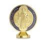 Medalha de São Bento para carro com fita adesiva