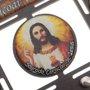 Porta chave Sagrado Coração de Jesus vazado