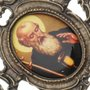 Porta retrato de São Bento - trabalhado