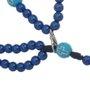 Terço de pulso Nossa Senhora Aparecida - Azul 3un