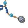 Terço de pulso Nossa Senhora das Graças - Azul marinho 3un