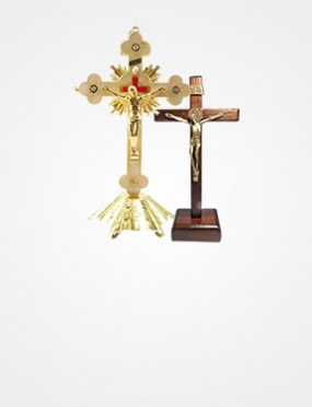 CRUCIFIXOS DE METAL